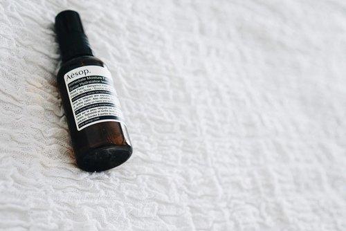 My current favorite, @aesopskincare face spray. Langsung kinclong rasanya 😁  #skincare