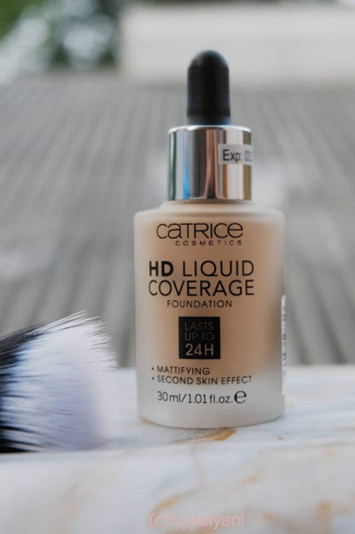 Fuji Astyani's Blog: Catrice HD Liquid Coverage Foundation Review