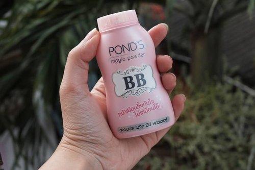 current fav loose powder 😂 udah dari sebulanan lalu bisa dibeli di Indomaret loh #clozetteid #pondsbbpowder
