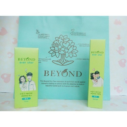 One of my current skin care :) #beyond #everstar #ecobeauty #skincare #beauty #beyondid #acne #clozetteid #clozettedaily #potd #skincareroutine #toner #spotgel