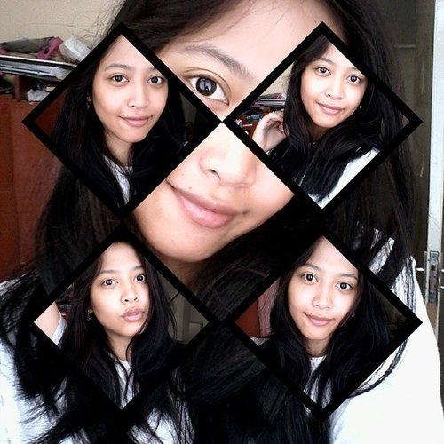 ketika editannya ngeri banget.... any way this is my #bareface , I dare you to show yours #indonesianbeautyblogger and #ClozetteID !!!!! #clozetteambassador #fotd #nomakeup #PhotoGrid #photooftheday #ilovemylife