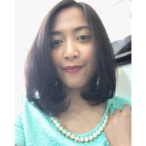weird angle but who cares??? #clozetteid #beautybloggerid #fotd #goodhairday