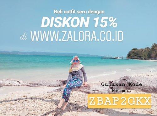 Hai hai. Yuk belanja di www.zalora.com . Bisa dapet diskon 15% dengan menggunakan kode promo: ZBAP2GKX . Kuy kuy. 😆#clozetteid #kodepromozalora #kodediskon