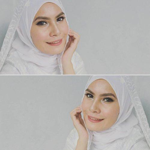 Bridal Make Up Inspired by @heidimakeupartist ❤ #heidihamoud #bridalstyle #bridalmakeup #hijab #fotd #smile #happiness #clozetteid #clozettedaily #bbloggers #beautyblogger #blogger #indonesianbeautyblogger #beauty #ultrahdgeneration #mufe #glowinglook #highlighters