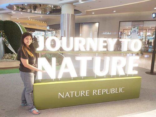 Journey start~ . . . #PlayWithNatureRepublic #JourneytoNature #NatureRepublicIndonesia #kbeauty #kbeautyskincare #exo #beauty #skincare #beautyblogger #lifestyleblogger #lifestyle #blogger #Youtuber #contentcreator #clozetteid #natural #fun #soconetwork