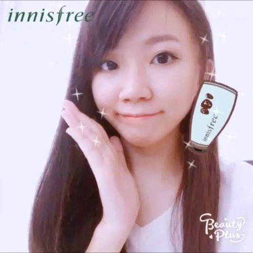 This is how @innisfreeindonesia products make my skin more better 😍  Good products for good skin 😁 Let's make a video using @beautyplus_id Innisfree Version 😆 Wish me luck  #innisfreeindonesia #innistagram #ColorClayMask #innisfree #BPlusxInnisfreeIndonesia #MultiMasking