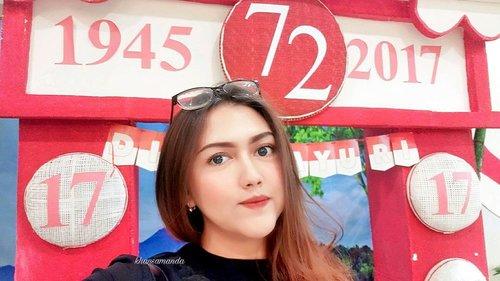 HAPPY INDEPENDENCE DAY, INDONESIA! 🇮🇩🇮🇩🇮🇩 🇮🇩 Berhubung gue hari ini ga kemana mana dan hanya menemukan spot lutju ini di rumah sakit, jadi terimalah selfie hari kemerdekaan gue ini dengan lapang dada yaa wkwkwk 🇮🇩 #clozetteid #clozetteambassador #khansamanda #independenceday #harimerdeka #indonesiaindependenceday #2017 #beautynesiamember