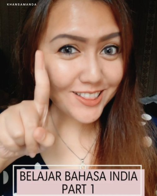 Belajar bahasa India (Hindi) PART 1! Yang gampang gampang aja wkwkwk  Semoga bermanfaat!😆❤ besok ketemu gue sapa pake bahasa india yaa.. hayolooo wkwkwk  For all my indian friends, you can also learn BAHASA INDONESIA from this video laah 🤣🤣🤣🤣 . . . . . . . . . #clozetteid #femaledailynetwork #khansamanda #sociollabloggernetwork #theshonetinsiders #beautybloggerid #beautybloggerindonesia #indobeautyvlogger #indobeautysquad #100haringontenwithibc #beautyblogger #beautysocietyid #clozetteambassador #beautyinfluencer #ivgbeauty #tiktokindonesia  #tiktokannettv #cchannelbeautyid #tiktok #cchannelfellas @cchannel_beauty_id @cchannel_makeup_id @lemoninfluencer.id #tiktokindia #belajarbahasa #bollywood #india #hindi #indovidgram #tiktokindo #tiktokers #languagelearning #language