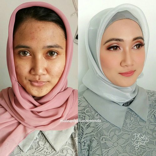 Yesterday Makeup for Riska!  Happy graduation beautiful💖 Swipe for details💖💖 #makeupbykhansamanda #makeupbykhansa . . . . . . . . . . . . . . . . . . .  #clozetteid #beautynesiamember #makeup #thepowerofmakeup #makeupwisuda #makeupartist #graduationmakeup #wisudaui #wisudaui2017 #bridalmakeup #weddingmakeup #naturalmakeup #youtuber #makeupartistdepok #makeupartistjakarta #MUADEPOK #MUAJAKARTA #MUABOGOR #MUA #hudabeauty