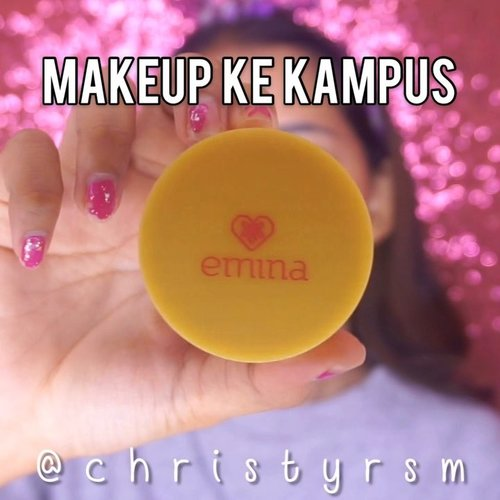 Heyo Beauties! 💖Kalian kalau ke kampus biasanya makeup-an nggak? 🤔•Di video ini aku bikin video tutorial makeup ke kampus yang super affordable. Enjoy! 💫🌈 @eminacosmetics Pore Ranger🌈 @garnierindonesia Tone Up Cream (as a concealer! It's working guys wkwk)🌈 Emina Daily Matte Loose Powder (Natural Beige)🌈 Beauty Creations Irresistible🌈 @lakmemakeup Precision Marble Eyebrow (Grey)🌈 @getthelookid Lash Paradise Mascara (MY FAVORITE MASCARA EVER)🌈 Emina Cheeklit Violet Berry🌈 @lipice_id Sweet Peach•#ivgbeauty #lovemakeup #tampilcantik #clozetteid #beuatyvloggerindonesia #makeuptutorial