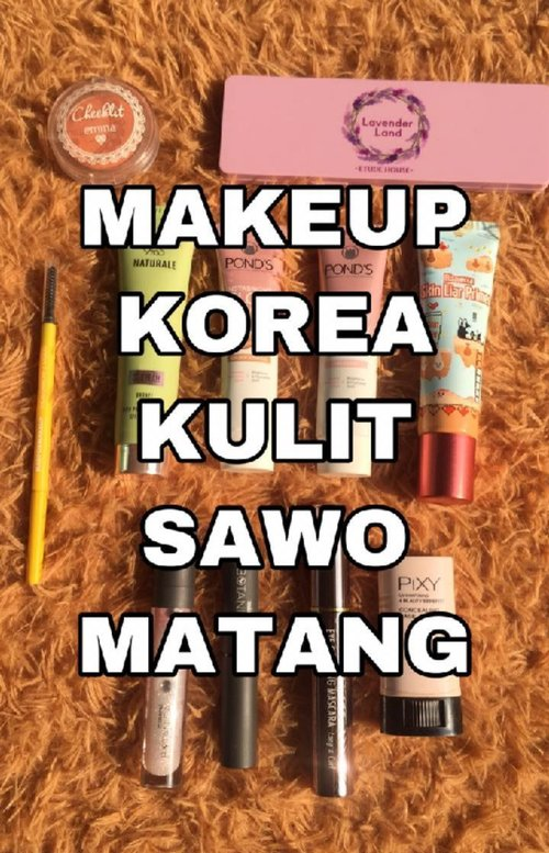 For more tutorials like this, follow @christyrsm yaa! It truly means a lot. ❤⁣⁣⁣⁣Heyo Beauties!⁣⁣Jujur, aku jarang makeup ala korea gitu soalnya ngerasa kurang cocok di akunyaa hehe. But here's my first korean makeup tutorial. ⁣⁣⁣⁣Product details.⁣⁣🌻 @hicharis_official Skin Liar Primer⁣⁣🌻 @pondsindonesia Glow Up Cream (Golden Sand)⁣⁣🌻 @lakmemakeup CC Cream (Bronze)⁣⁣🌻 @madformakeup.co Sponge ⁣⁣🌻 @pixycosmetics Concealing Base (02)⁣⁣🌻 POND's Glow Up Cream (Pink)⁣⁣🌻 @eminacosmetics Bright Stuff Loose Powder⁣⁣🌻 MAD Incredibrow (Brown)⁣⁣🌻 @etudehouseofficial Eyeshadow Lavender⁣⁣🌻 Emina Cheeklit (Sugarcane)⁣⁣🌻 @chaeisceleb Vue De Pulang Eye Curling Mascara⁣⁣🌻 @mineralbotanica x @hanummegaa Lip Bundle⁣⁣⁣⁣🎼 @nikizefanya - La La Lost You⁣⁣#ivgbeauty #koreanmakeup #clozetteid #indobeautygram #eminacosmetics #tampilcantik #zonamakeup #niki #88rising #cchanel_beauty_id