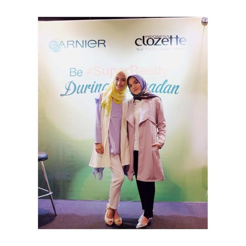 Live from @clozetteid today's event with @garnierindonesia #SuperReady #superreadyclozetters #clozetteID