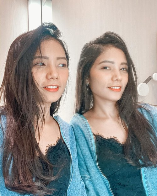 Life is just a mirror, and what you see out there, you must first see inside of you 😊  I have a twins now 😆 how we look?? . . . . #selfie #mirorselfie #clozetteid #loveyourself