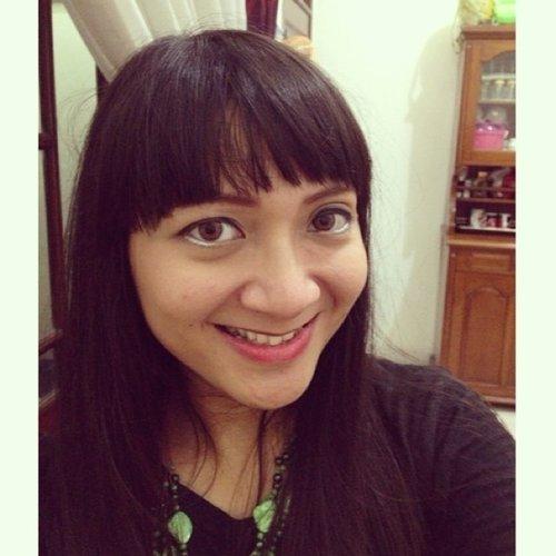 Make up coba-coba. #throwback #dibuangsayang #makeup #clozetteid #face