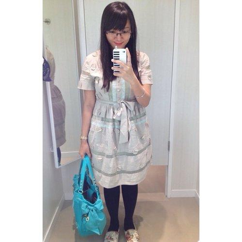 Today's outfit. #ootd #fashion #clozetteID #cKstyle #dress #instafashion
