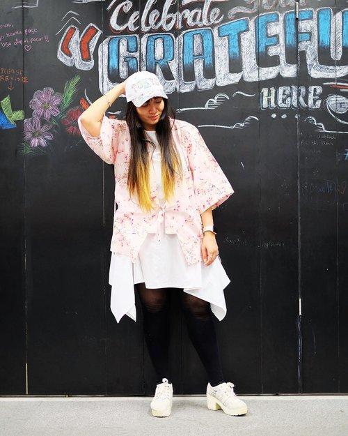 Udah lama gak #OOTD. . 📸 by @romyswn . . . #clozetteID #japanesestyle #instafashion #cKstyle