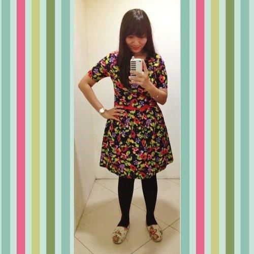 New dress #recentpurchase #dress #casual #fashion #instafashion #clozetteid