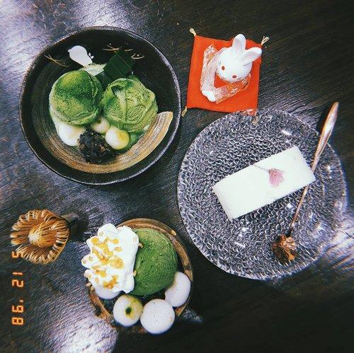 My favorite matcha dessert this moment! Wrote a review about @amausaanujimatcha on #bigdreamerblog 🤗💖 . . . #clozetteid #FoodMonsterEscape #matchadesserts #amausaanujimatcha #matchalover #japanesefood #foodblogger #jktfoodies #culinary #음식스타그램 #음식