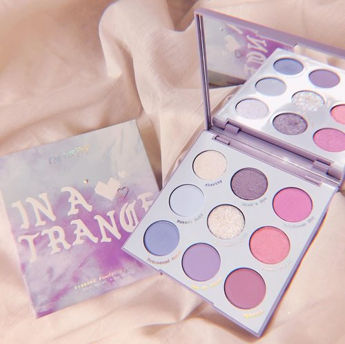 That one palette that screams my name 🥺💖✨✨Will try to create some look soon!...#clozetteid #makeupcollection #eyeshadowcollection #colourpopeyeshadow #colourpoppalette #colourpopme #eyemakeup #inatrancepalette #pastel #tiedye #뷰티 #メイク #コスメ