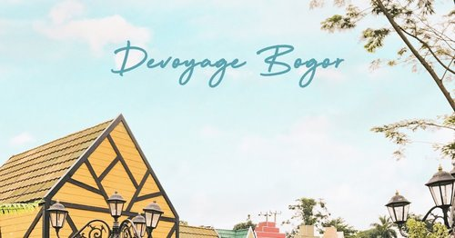 #BigDreamerWander: Devoyage Bogor, European Village Themed Selfie Spot