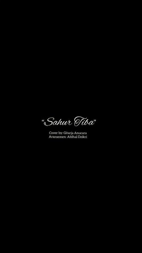 Banguunnnn bangunn!! Sahuurr sahurr!Quum quum, kam tanam?—— Sahur TibaDipopulerkan oleh tasya kamila dan GIGICiptaan : At MahmudLirik : ni luh Dewi ChandrawatiAransemen: @afdhaldzikri Cover by: Gitarja AnucaraVideo Editor: @zahraefh @gigibandofficial @tasyakamila #sahur #puasa #clozetteid #cover #choir