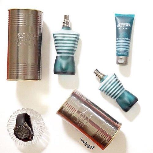 [New Post is Up] Hai everyone~ Aku rekomendasikan Jean Pau Gaultier Le Male Parfums and Gel for your man 💁: 👱👦👨👴 #clozetteid #flatlay #jeanpaulgaultier #lemale #france #like4like #followme #new #photooftheday #jpg #legeldouche #edt #eaudetoilette #parfum #perfume #lemaleterrible #classic #formen #tuesday #happy #minyakwangi #parfumcowok #scent #beauty #man #men #mensfashion #mansbestfriend #jpgaultier @jpgaultierofficial