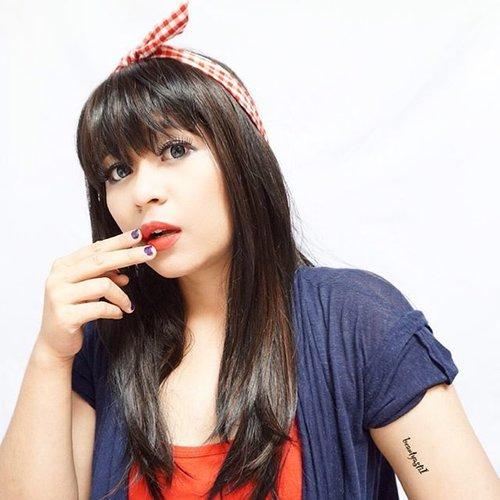 Have a great day people on the internet.. 🌎⭐️ Yang ikutan giveaway aku bulan ini, mohon cantumkan hashtag yang benar ya 😉🙆 Hadiah nya ada Virgin Coconut Oil dari @vicobagoes untuk 5 orang pemenang 🎉🎁🎋 Syarat dan ketentuan bisa klik www.beautyasti1.com atau klik link yang ada di bio ❤️❤️❤️ #clozetteid #selfie #selca #potd #fotd #kawaii #gyaru #aegyo #cute #girl #happy #weekend #ulzzang #kpop #makeup #beauty #starclozetter #red #sexy #pinupgirl #new #love #like #photooftheday #lipfie #lotd #lipstick #lips