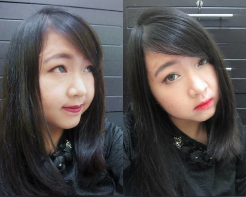 On this picture, I'm using #toocoolforschool Vampire's Kiss Lipstick in Red Velvet (left) and Bloody Red (right)  Do you want to know more about these lipsticks?  Updated on #MeisUniqueBlog about @toocoolforschool.id 's Glam Rock Series Products.. #linkonbio Or http://www.uniqueblogofmei.com/2016/11/too-cool-for-school-glam-rock-series.html . . . . . #toocool_indonesia #tcfs #makeup #makeuplook #bblog #potd #latepost #throwback #bloggers #lipstick #review #igers #ibb #ifb #ifbb #igs #instagood #girls #clozetteid #clozettedaily