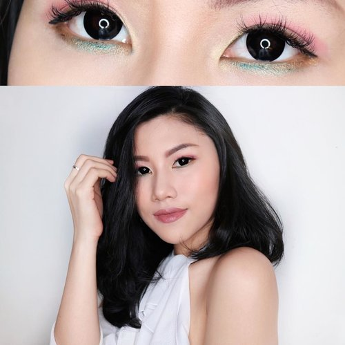 Akhir-akhir ini aku lagi seneng banget coba-coba main makeup mata yang simple but colorful. Dan salah satu produk yang lagi aku sering aplikasikan adalah Eyeposh produk dari ULTIMA II. Kalian bisa cek swatch dan reviewnya di blog aku ya.. Link in Bio! #BeautyUndefeated #FDblogger ㅤㅤ ㅤㅤ ㅤㅤ ㅤㅤ ㅤㅤ ㅤㅤ #clozetteid #beautyblogger #indonesianfemaleblogger #beautyjunkie #makeupjunkie #lipstickswatch  #makeupaddict #makeupjunkie #eyeshadow #clozettestar #endorse  #indonesianblogger #Indonesianfemalebloggers #indonesianfashionblogger #beautyenthusiast #beautybloggerindonesia #makeuptutorial #muajakarta #femaleblogger #dailyupdate  #bloggerindo #reviewblogger #bloggerswanted  #reviewmakeup #tutorialmakeup #wakeupandmakeup