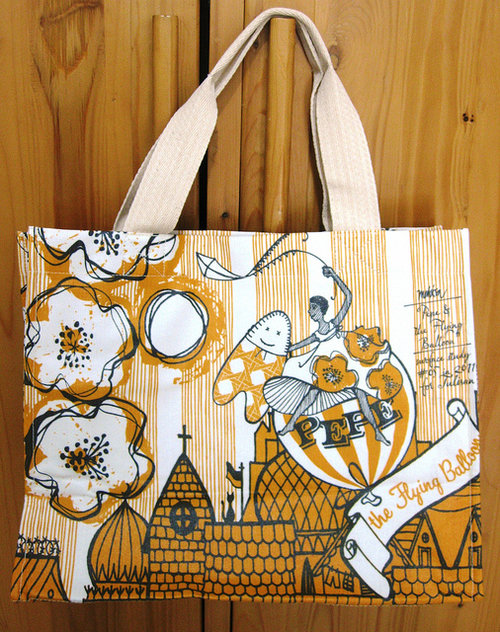 Librarian Bag from Pepe and The Flying Balloon collection Salute the lady behind the brand....