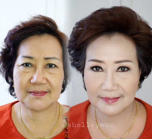 Makeup for mature skin Soft makeup and single lashes  by request  Makeup by @shelleymuc @shelleyssebastian HairDo by @tiara_hairdo  #makeup #beauty #shelleymuc #surabaya #makeupartist #mua #shelleymakeupcreation #beforeafter #clozetteID #makeover #muasurabaya #muaindonesia #hairdo #soft #softmakeup #beautifulgirl #softsmokey #glammakeup #glamourmakeup #makeupartistsurabaya #surabayamakeupartist #correctivemakeup #monolid #monolidmakeup #matureskinmakeup
