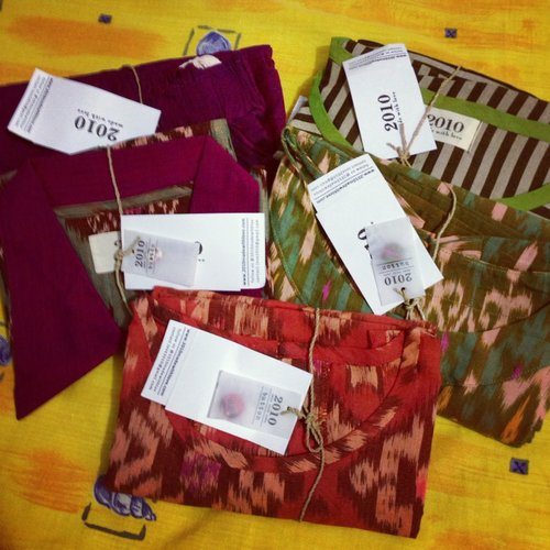 2010MadeWithLove: Sibolga Dress, Semarang Dress, Balangan Blouse, Umalas Top and Ungasan Pants