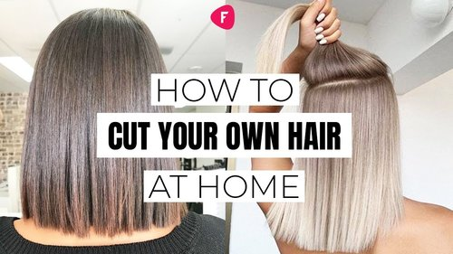 How To CUT YOUR OWN HAIR AT HOME | 3 Ways DIY Haircut - YouTube