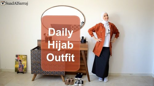 Daily Hijab Outfit in one minute - YouTube