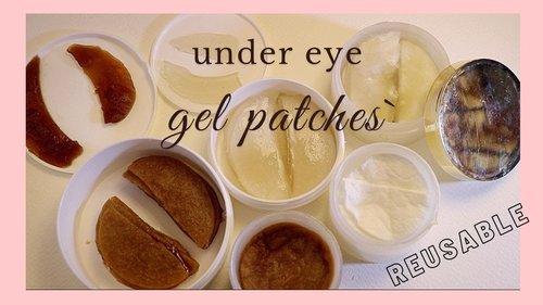 Dark Circles Under Eyes Home Remedy   Under Eye Patches For Dark Circles   Gel Eye Patches Homemade - YouTube