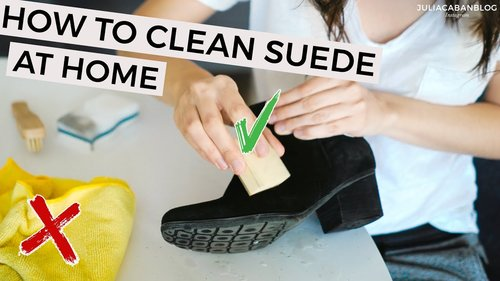How To Clean & Protect Suede Shoes At Home   DIY 5 Easy Ways - YouTube
