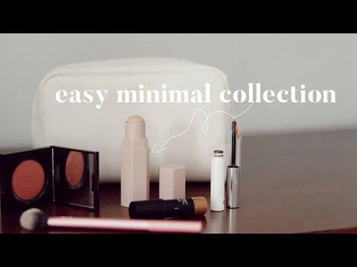 How to Create a Minimalist Makeup Collection - YouTube