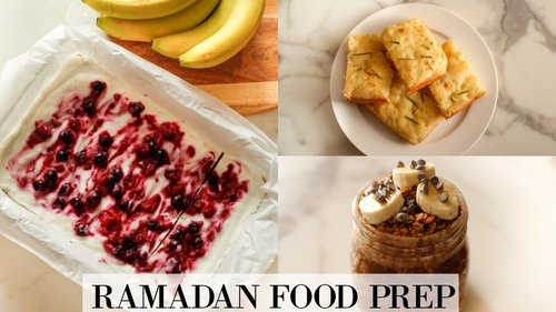 Ramadan Meal Prep | Easy Make & Freeze Recipes - YouTube