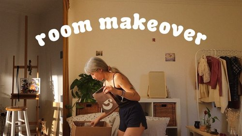 ARTSY ROOM MAKEOVER ☁️🍃 - YouTube
