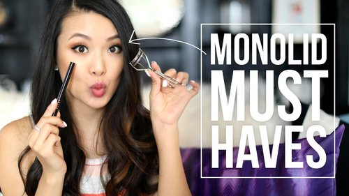 Monolid MUST HAVES | Best Products for Hooded Eyelids - YouTube