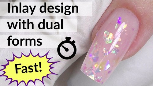 """<div class=""""photoCaption"""">Glitter Nail Art with Dual Forms & Polygel Tutorial - YouTube</div>"""