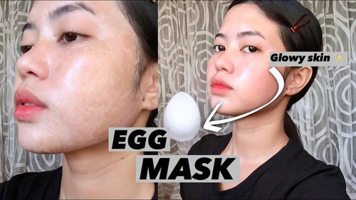 DIY EGG Face Mask (GLOWY SKIN‼️) - YouTube