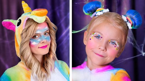 7 Cute Halloween Makeup Ideas / Goo Goo Galaxy Makeup - YouTube