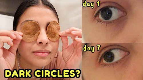 I tried to remove DARK CIRCLES in 7 days with coffee & THIS HAPPENED! *before & after results* - YouTube