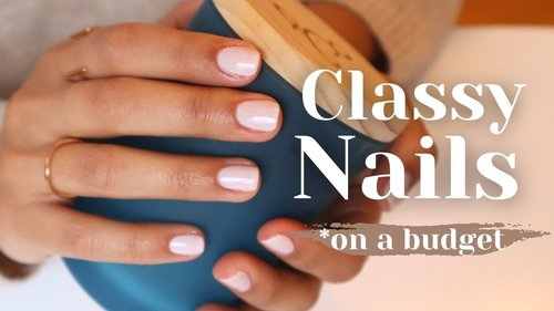 How to At Home Manicure | DIY Natural Nails with Salon Results! - YouTube