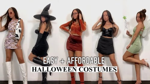 Last Minute Halloween Costumes 2021    10 Affordable Halloween Costume Ideas for College Girls - YouTube