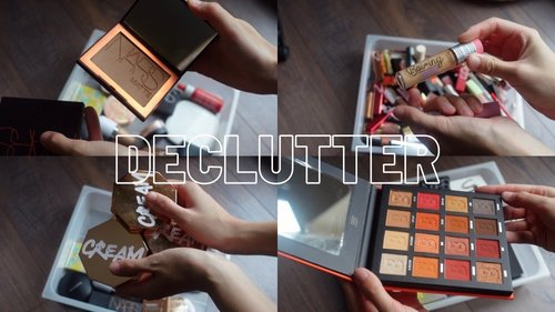 MAKEUP COLLECTION - A STEP CLOSER TO MINIMALISM - YouTube