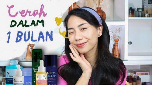 Skincare-an Bareng! | full review skincare Somethinc (CERAH DALAM 1 BULAN!) Skincare aman Busui - YouTube