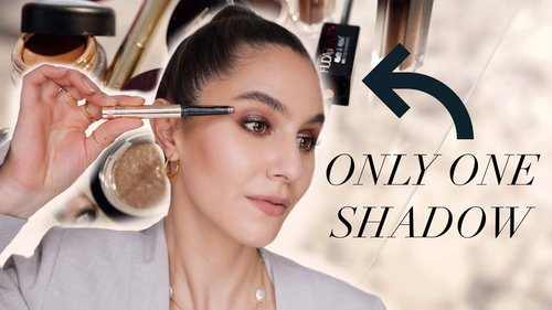 One-and-Done Eyeshadows ✔️ Easy, Effortless Eyeshadow Looks | Karima McKimmie - YouTube