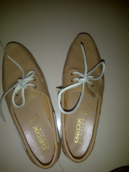 Great Catch from #FDGarageSale : Geox Loafer for IDR 150,000 in a very very very good condition! Thanksss @solaia :*